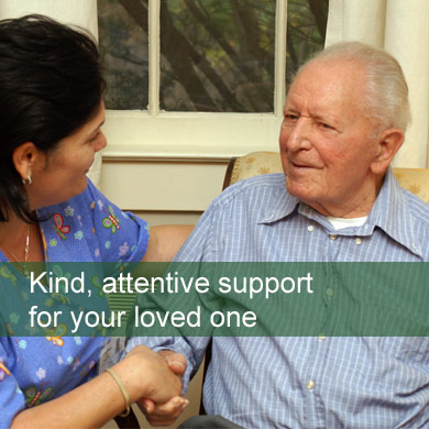 Kind, attentive support for your loved one. In Home Health Care Services NJ
